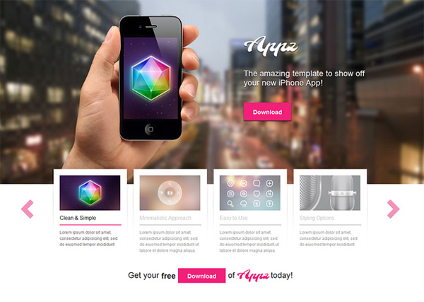 Appz - Free WordPress Theme
