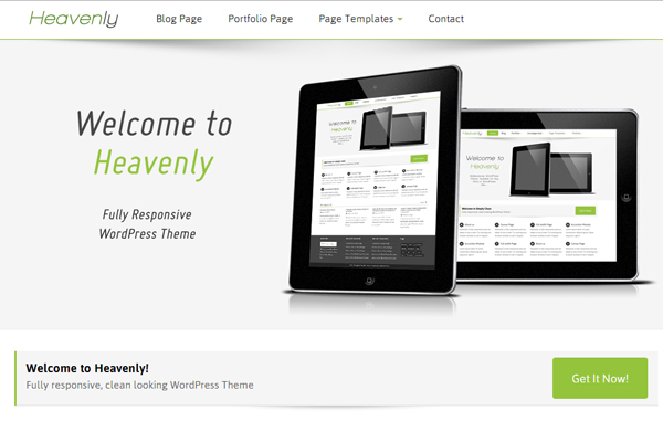 Heavenly Free WordPress Theme