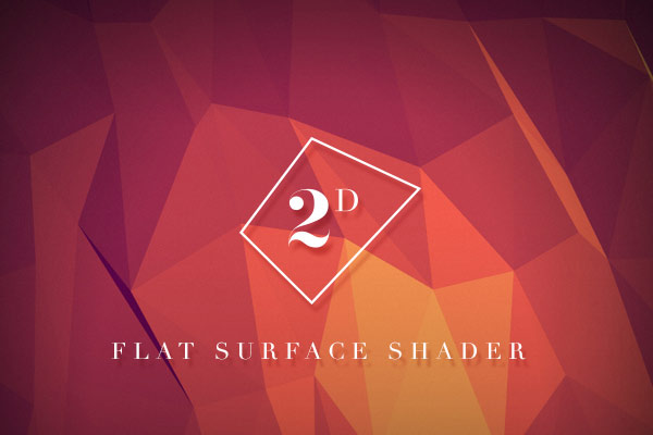 Flat Surface Shader – A Canvas Web Experiment