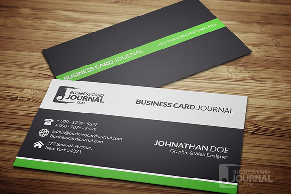 30 business card psd templates psdblast clean professional business card design wajeb Gallery
