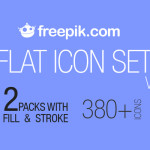 Download 380+ Flat Icon Set Absolutely FREE!