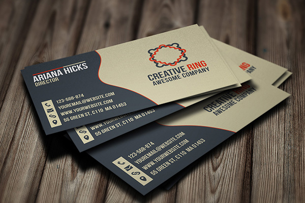 30+ Business Card  PSD Templates