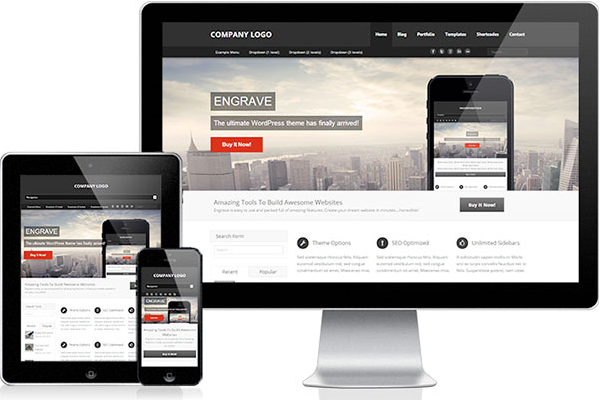 Free WordPress Themes, January 2014