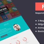 Flato - Responsive Online CV & Resume Templates