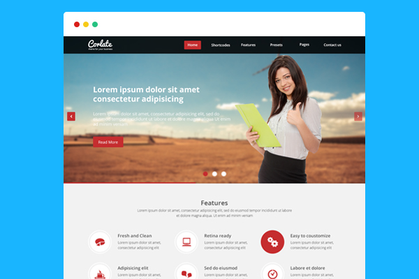 12 free bootstrap html templates psdblast corlate free responsive business html template cheaphphosting Image collections
