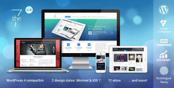The7 - Responsive Multi-Purpose WordPress Theme