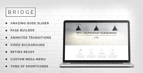 Bridg Creative Mult Purpose WordPress Theme