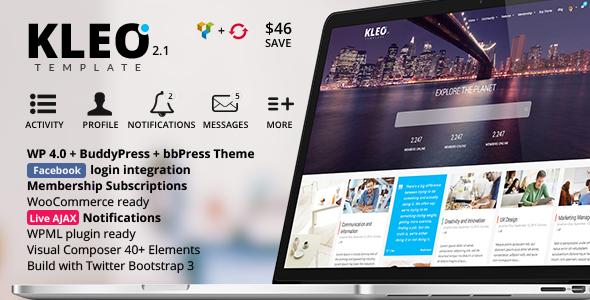 KLEO Nex leve Premium WordPress Theme