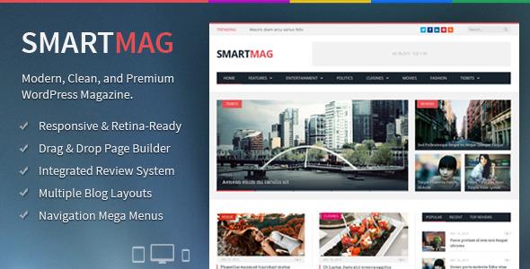 SmartMag Responsive & Retina WordPress Magazine