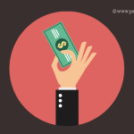Cash Payment Icon PSD