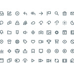 60 Free PSD Icons