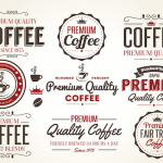 Free Retro Coffee Vector Icon PSDs
