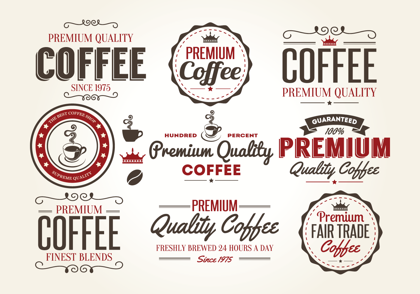 retro-coffee-label-vectors-psd