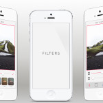iPhone Photo App Template PSD