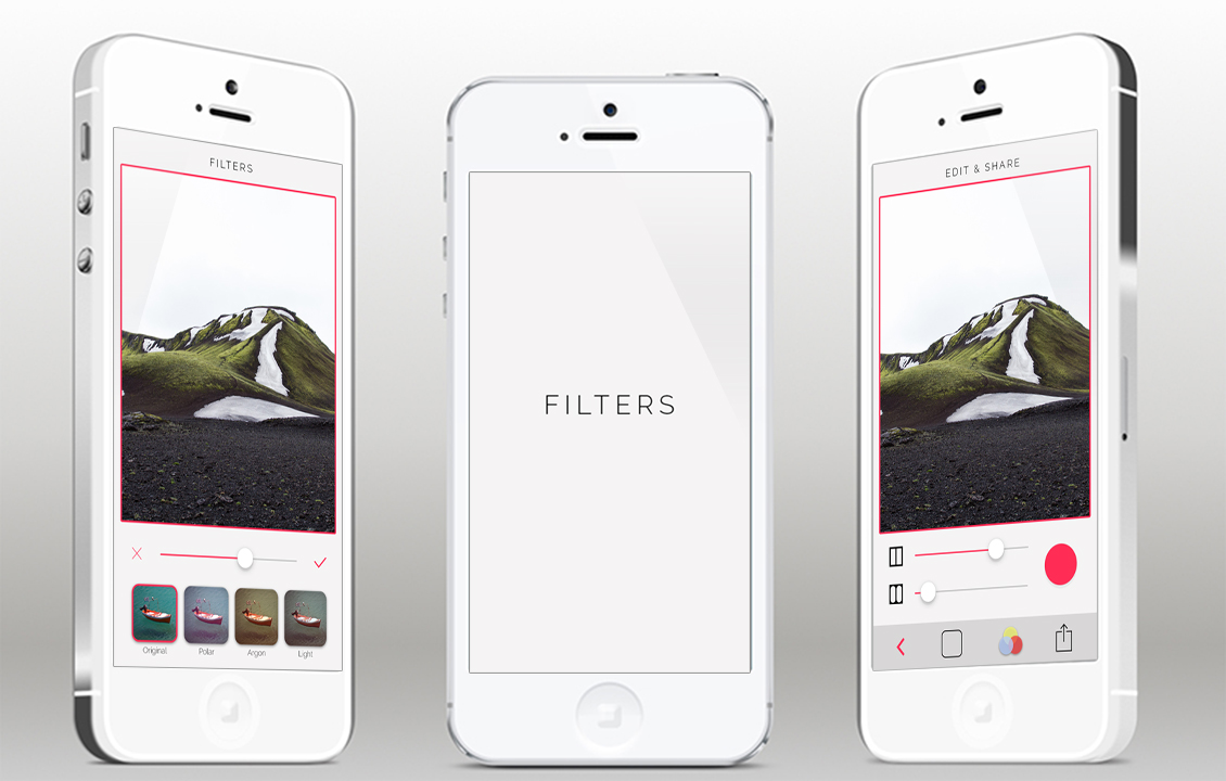 Iphone photo app template psd psdblast for Ios splash screen template psd