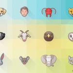 Free 24 Animal Attributes Icon Set