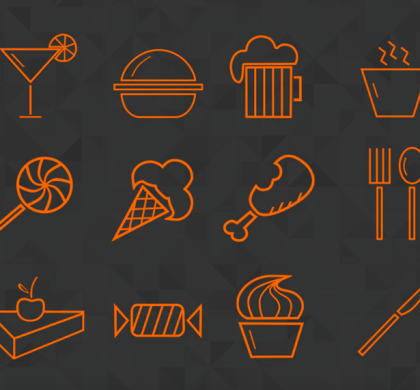 16 Food Icons (PSD)