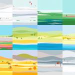 Free Material Design Calendar Illustrations