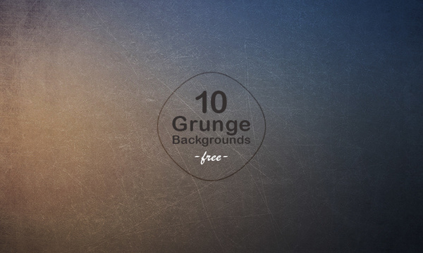 10 Free Grunge Backgrounds