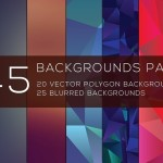45 Free Blurred and Polygon Backgrounds