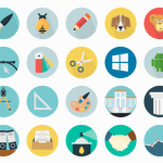 Free 50 Icons Set PSD