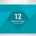 12 Material Design Promotional Backgrounds