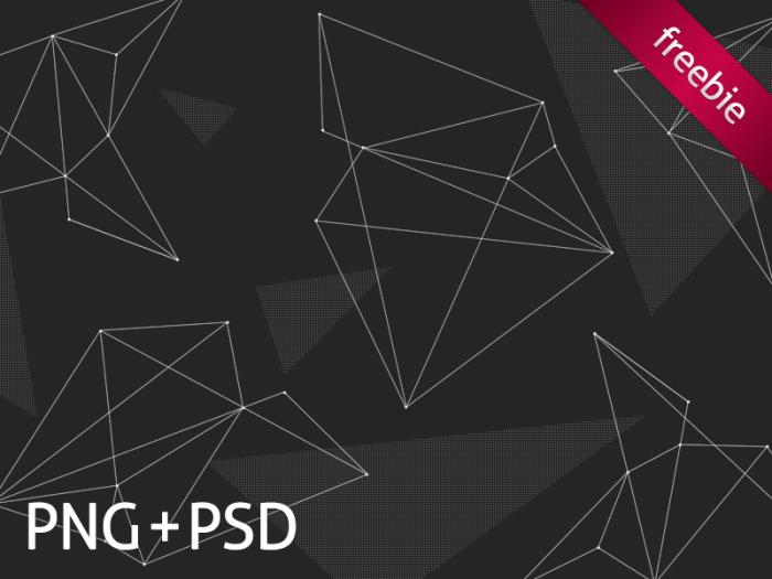 Free Polygon Line Patterns (PSD)
