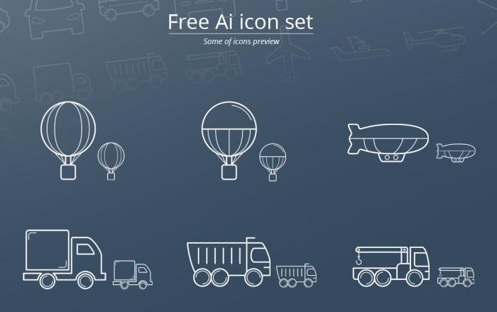28 Transport Icons
