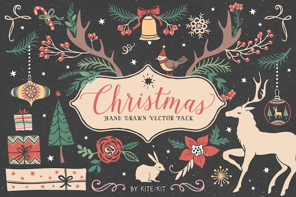 The Christmas Collection – Hand Drawn Vector Pack