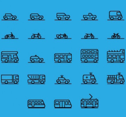 71 Free Transportation Icons