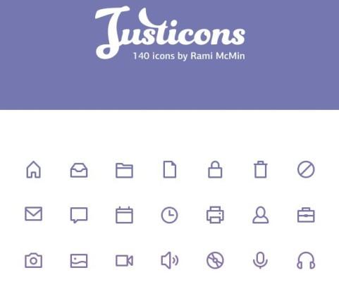 Justicons psdblast