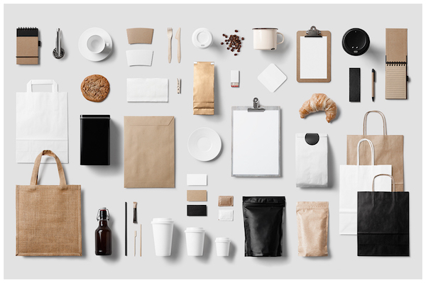 Coffee Stationery / Branding Mock-Up Bundle