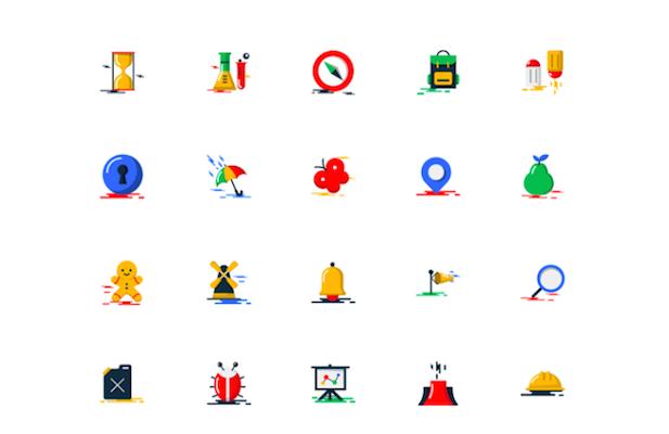 1000 Free Icons PSD