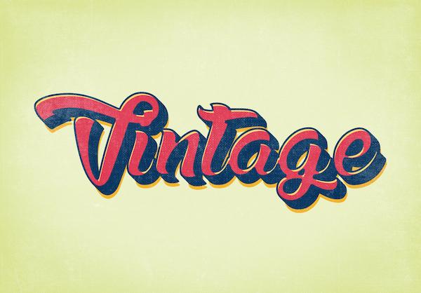 10 Free Vintage Retro Style Graphics PSD