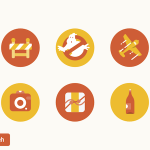 6 Free Ghostbusters Icons (Sketch)