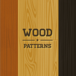 3 Free Wood Pattern Backgrounds PSD