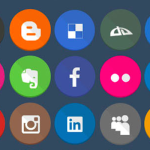 40 Free Flat Icons Set PSD