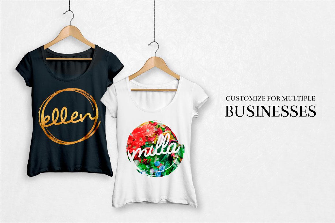 feminine-logo-templates-tshirts-o