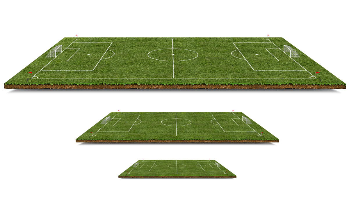 Free Football Pitch PSD