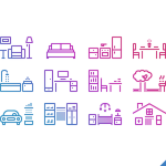 Free 12 House Icons (PSD)