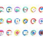 18 Free Neon Icons