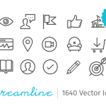 Streamline Essential - 2000 .sketch Icons