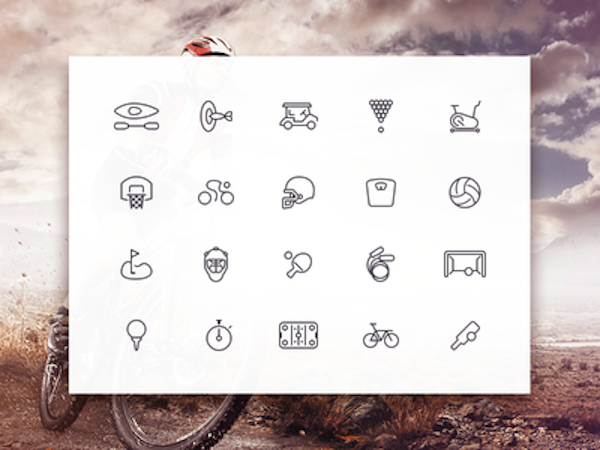 Free Sporties Icon Set