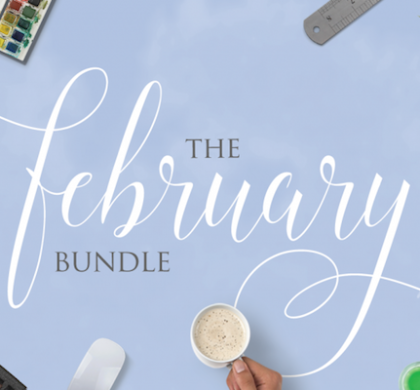 The February Font Bundle