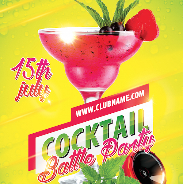 Free Party Flyer Templates (PSD)