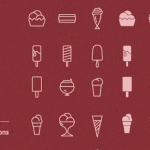 90 Free Ice Cream Icon Vectors