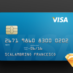 Free Credit Card Template (Sketch)
