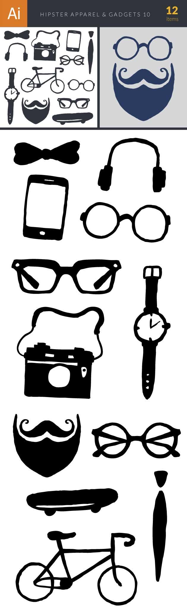 design-tnt-hipster-apparel-&-gadgets-set-10-large-preview