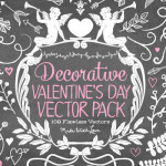 Decorative Valentine's Day Vector Pack