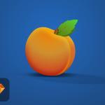 Free Peach Illustration (Sketch)